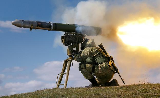 הטיל (צילום: mil.ru, wikimedia)