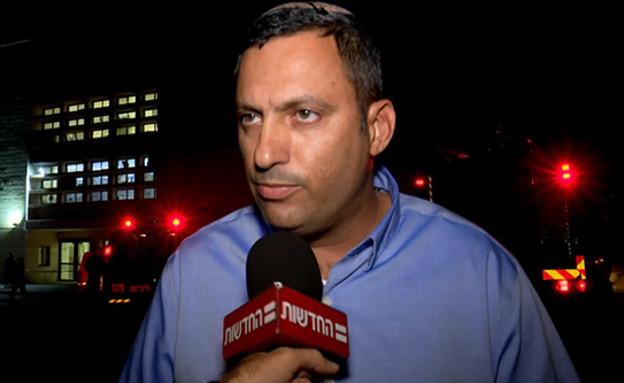 אלון דוידי, ראש עיריית שדרות (צילום: החדשות)