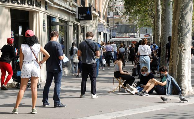 צרפת קורונה (צילום: רויטרס)