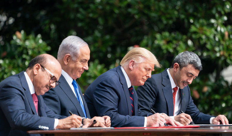 נתניהו, טראמפ, הסכם שלום, בחריין, איחוד האמירויות, ישראל
