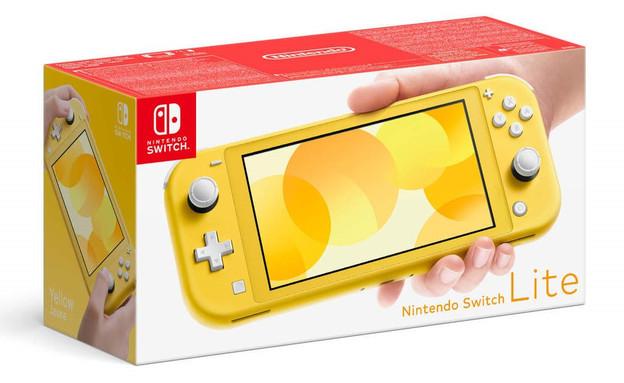 קונסולה Nintendo Switch Lite  ברשת מחסני חשמל (צילום: רשת מחסני חשמל)