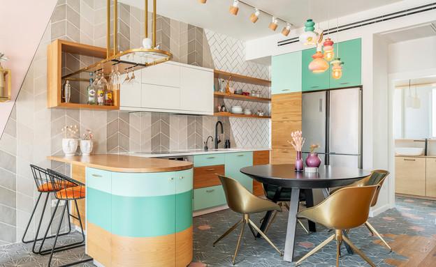 דירה בתל אביב, עיצוב סטודיו רועי זליחובסקי - 21 (צילום: יואב פלד)