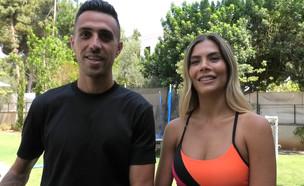 ערן ושי זהבי בראיון (צילום: מאיה מאירי)