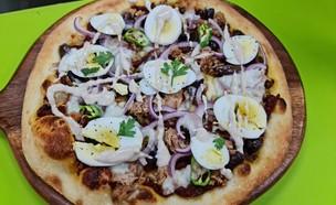 פיצה בפיצ'קלי (צילום: גל קרן, יחצ)