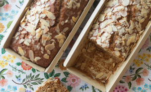 עוגת דבש ורסק תפוחים (צילום: קרן אגם, אוכל טוב)