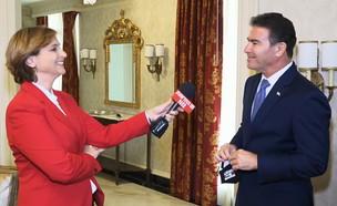 יוסי כהן בראיון לדנה ויס (צילום: N12)