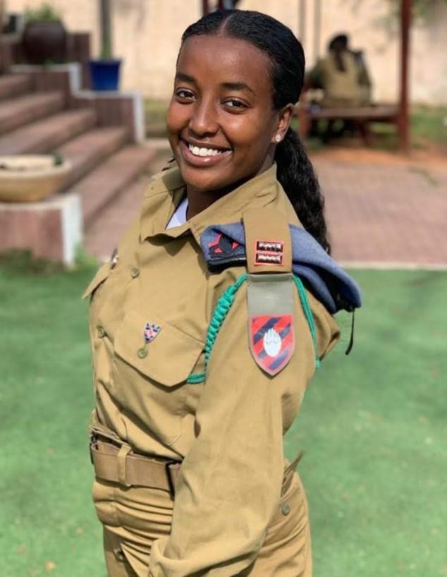 סגן מולועלם (מולי) אמבאו (צילום: דובר צה