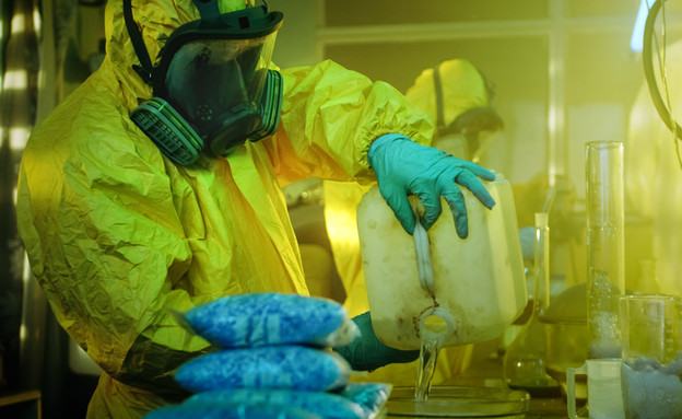 מעבדת סמים (צילום: Gorodenkoff, Shutterstock)