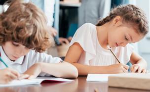 ילדים לומדים בריכוז (צילום: LightField Studios, shutterstock)