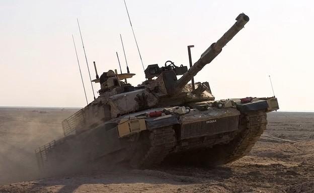 טנק (צילום: Gustavo Olgiati, U.S. Army)