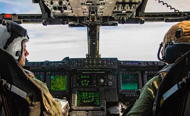 מטוס-מסוק לכוחות מיוחדים V-22 (צילום: בואינג)