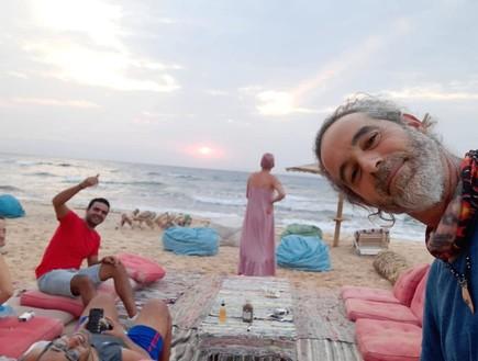 """ישראלים בסיני:  """"אנחנו נמצאים בגן עדן"""""""