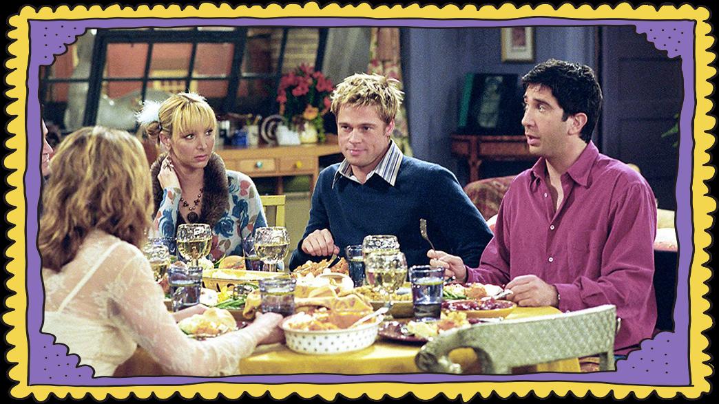 ארוחת חג ההודיה, חברים (צילום: Warner Bros. Television Distribution)