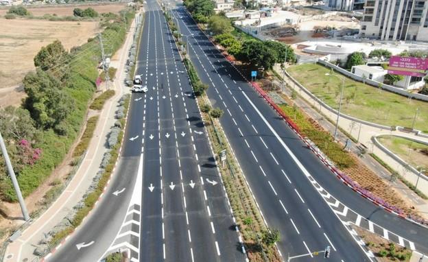 הכבישים ריקים בכל רחבי הארץ