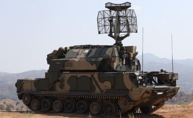 מערכת ההגנה בתרגיל (צילום: National Guard Cyprus)