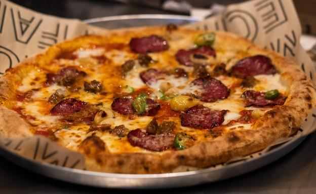 פיצה נונו, הוד השרון (צילום: גיא חמוי)