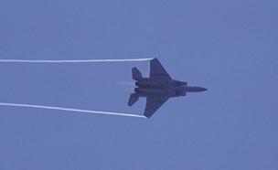 """מטוס חיל האוויר, ארכיון (צילום: דובר צה""""ל)"""