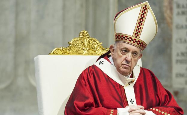 האפיפיור פרנציסקוס (צילום: Vatican Pool - Corbis, Getty Images)