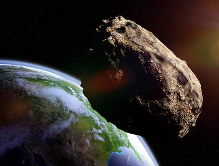 יותר קרוב מהירח: אסטרואיד יחלוף ליד כדור הארץ ביום חמישי