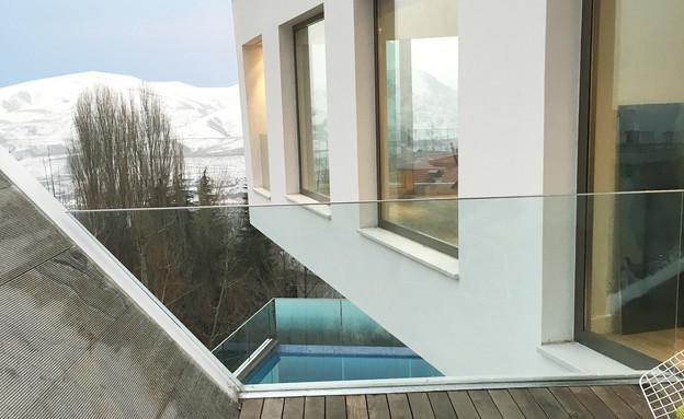 עיצוב חרירי את חרירי אדריכלים - 6 (צילום: Moein Hossein LAVASAN LIVINGROOM)