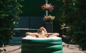 אמבטיה מתנפחת, tubble (צילום: tubble)