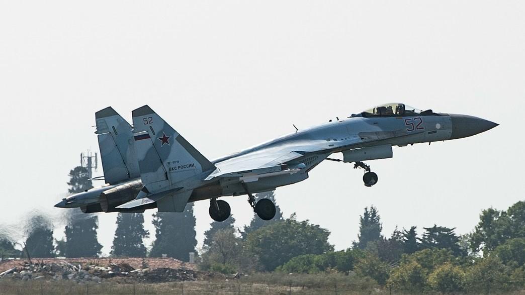 Avion de combat Sukhoi 35 (Photo: YASIN AKGUL / AFP via Getty Images)
