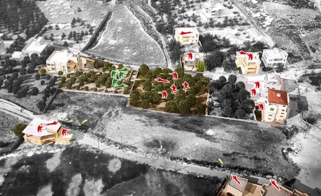 שחזור הקרב בבינת ג'בל במלחמת לבנון השנייה (צילום: באדיבות משה מרחביה, אביו של סגן עמיחי מרחביה ז