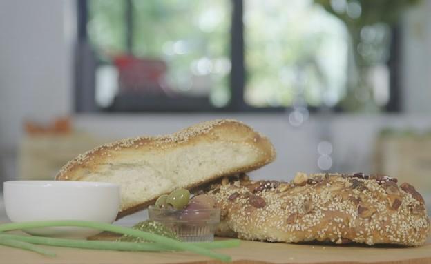 בייגל ירושלמי (צילום: מתוך אמהות מבשלות ביחד, ערוץ 24 החדש)