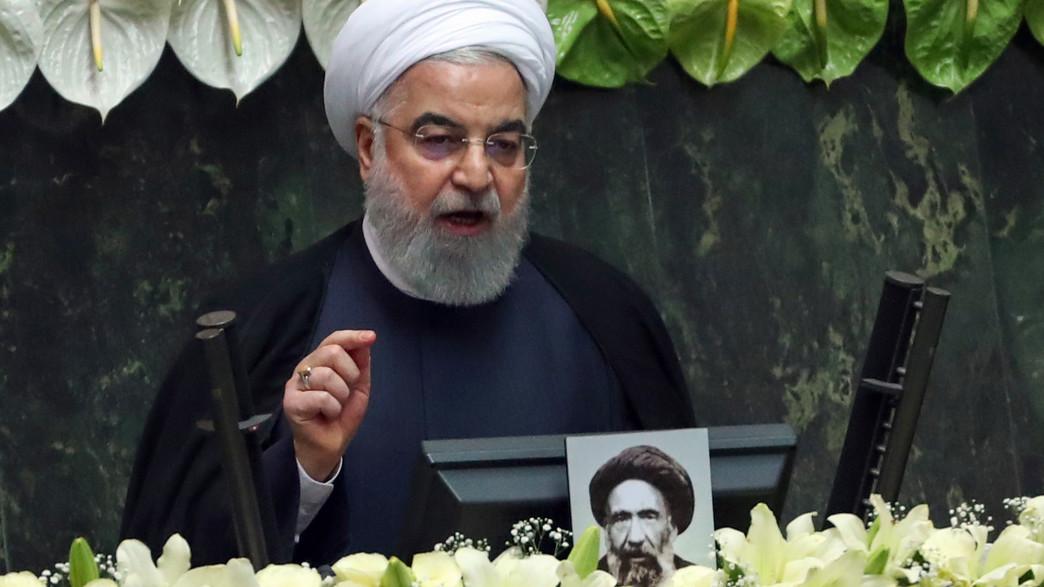 חסן רוחאני, נשיא איראן  (צילום: AFP, GettyImages)