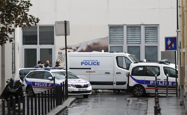 אירוע דקירה בצרפת (צילום: ap)