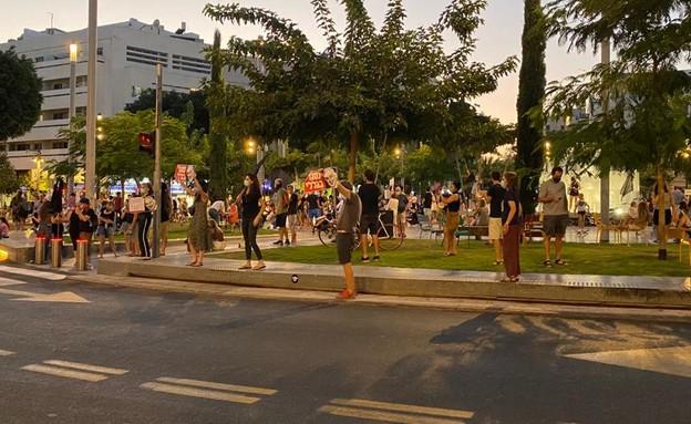 מפגינים ברחבי הארץ (צילום: N12)