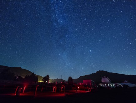 מיקום מושלם: זה אחד המקומות הטובים בעולם לצפות בו בכוכבים