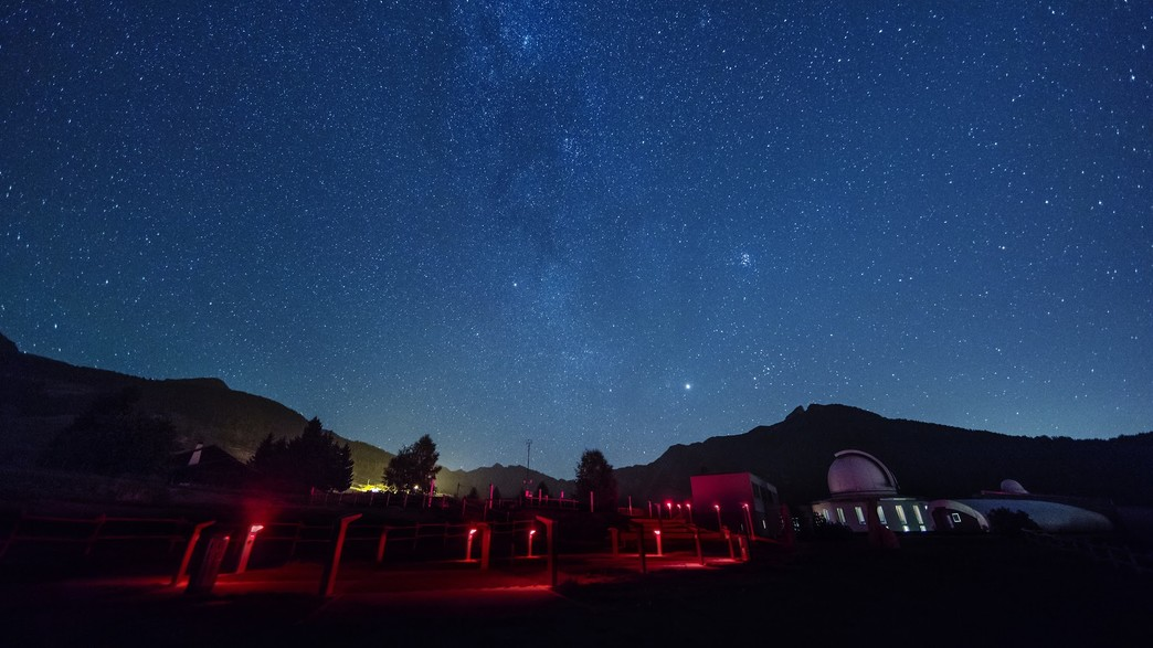 המצפה האסטרונומי (צילום: Giovanni Antico)