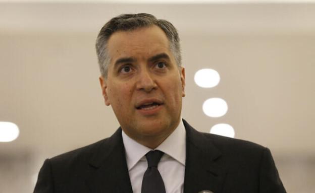 ראש ממשלת לבנון המתפטר מוסטפה אדיב (צילום: Bilal Hussein, AP)