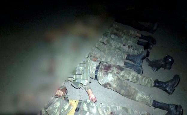 הקרבות בין אזרבייג'ן לארמניה (צילום: reuters)