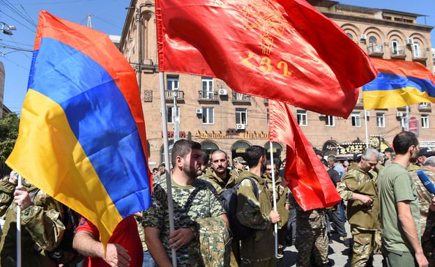 חיילים של צבא ארמניה (צילום: reuters)