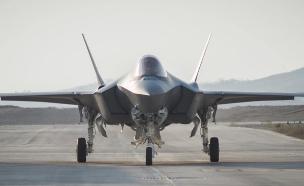 מטוס F-35 אדיר בישראל (צילום: מייק יודין, אתר חיל האוויר)