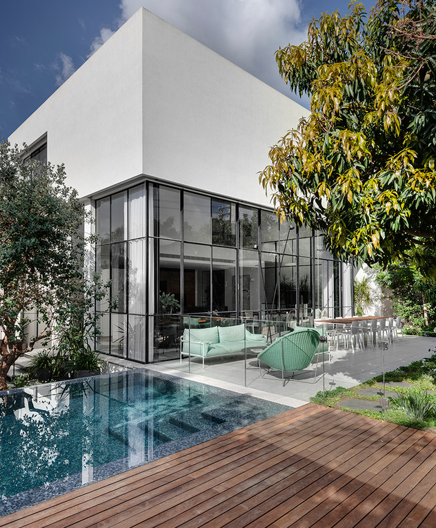 בית בתל אביב, עיצוב סמט אדריכלים, ג - 1