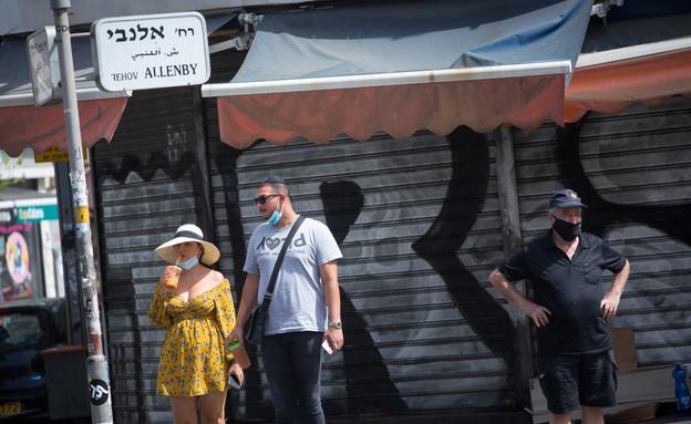 קורונה בתל אביב - ספטמבר 2020 (צילום: מרים אלסטר, פלאש 90)