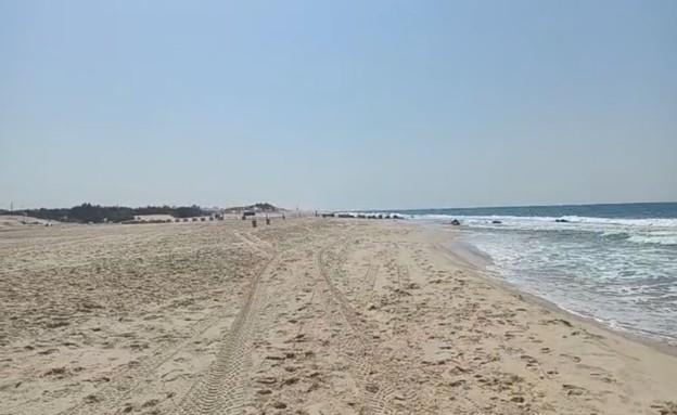 חוף ניצנים (צילום: ברק ביכלר)