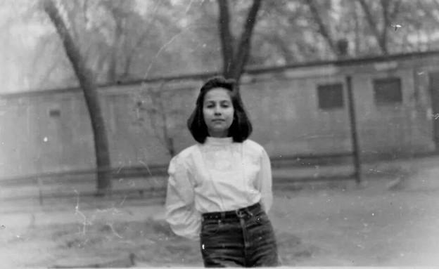 מרינה קיגל לפני עלייתה לארץ (צילום: באדיבות המצולמת)