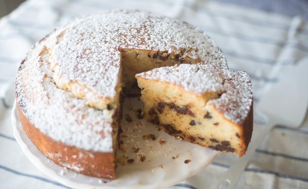 עוגת תפוזים ושוקולד צ'יפס רכה  (צילום: קרן אגם, אוכל טוב)