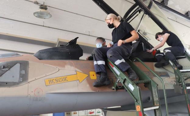 בטייסת (צילום: שי לוי)