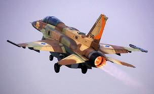 הטייסת בפעולה (צילום: יששכר רואס, אתר חיל האוויר)