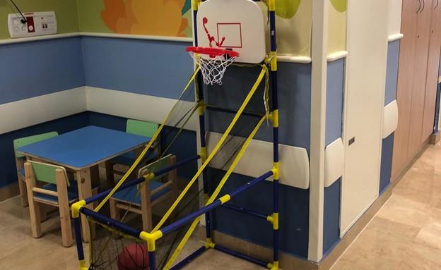 מחלקת קורונה ילדים בבית החולים שיבא (צילום: דוברות שיבא תל השומר)