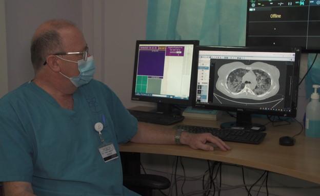 יומיים בבית החולים הקורס במדינה (צילום: החדשות 12)