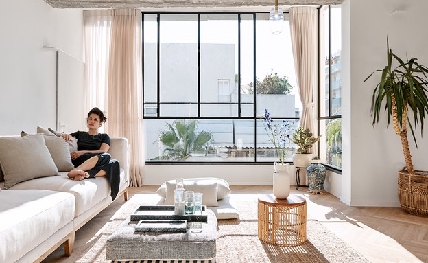 דירה בתל אביב, עיצוב נועה דניר - 13 (צילום: סיגל סבן)
