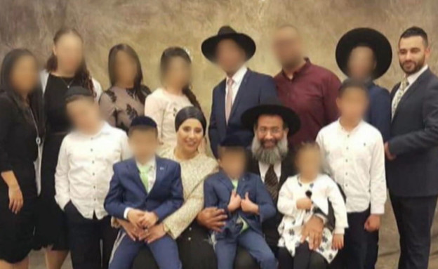 """חלה בקורונה והדביק 16 מבני משפחתו (צילום: מתוך """"חדשות הבוקר"""" , קשת 12)"""