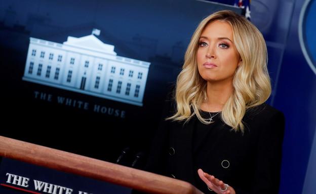 קיילי מקנאני, דוברת הבית הלבן (צילום: רויטרס)