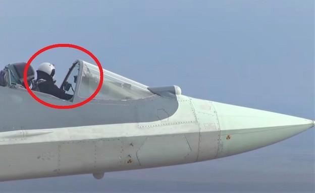 הטייס (צילום: mil.ru, YouTube)